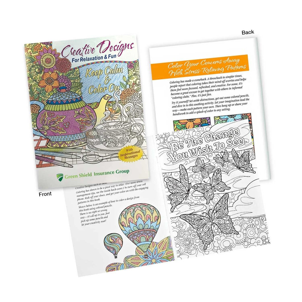 Adult Colouring Book - New Age Promotions