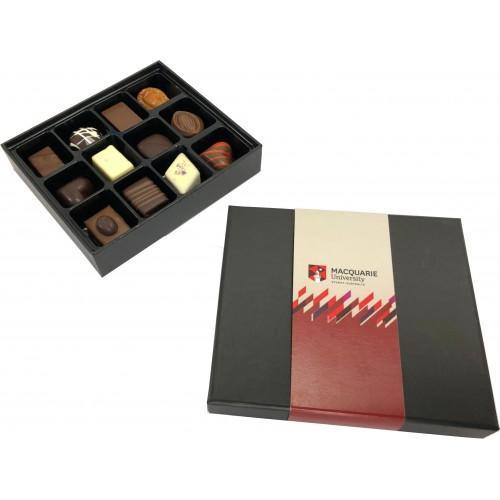 12 Pack Choc Box Assorted PRALINES - New Age Promotions