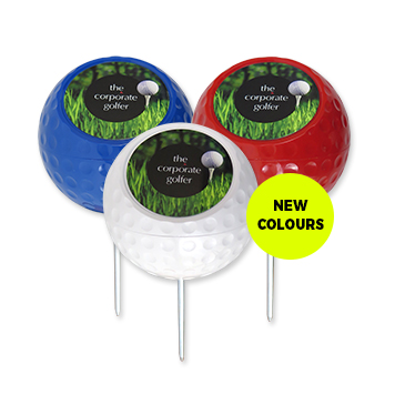 Personalised Dimple Tee Markers - New Age Promotions