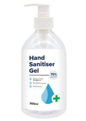 300ml Hand Sanitiser Gel - New Age Promotions