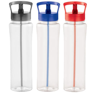Sparton BPA Free Sports Bottle - Black