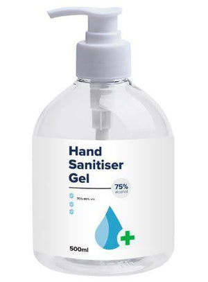 500ml Hand Sanitiser Gel
