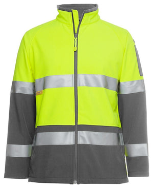 Hi Vis (D+N) Softshell Jacket - New Age Promotions