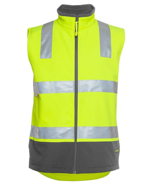 Hi Vis (D+N) Softshell Vest - New Age Promotions