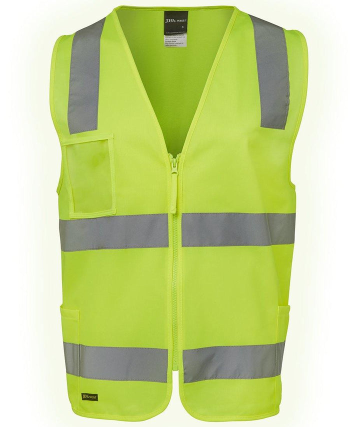 Hi Vis (D+N) Zip Safety Vest