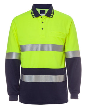 Hi Vis L/S (D+N) Traditional Polo - New Age Promotions