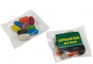 Australian Made Jelly Beans in Cello Bag - New Age Promotions