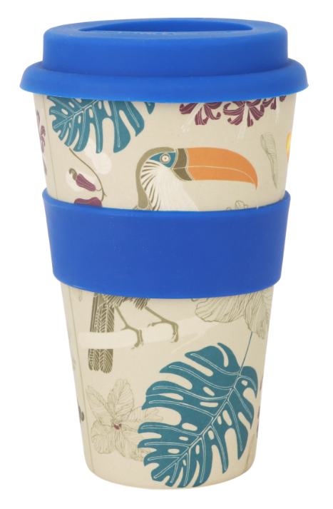 400ml Reusable Bamboo Coffee Cup