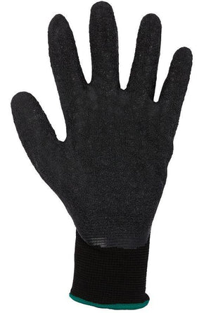 BLACK LATEX GLOVE (12 PACK)