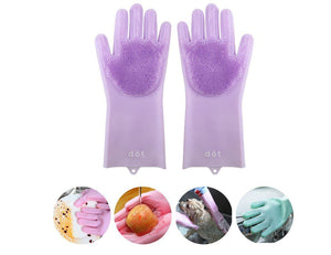 Silicone Gloves Cleaning Brush - New Age Promotions