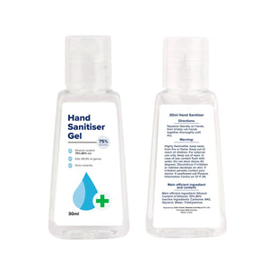 30ml Hand Sanitiser Gel - New Age Promotions