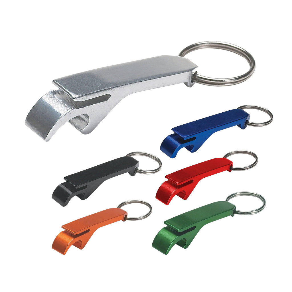 ARGO COLORED BOTTLE OPENER KEY RING - New Age Promotions