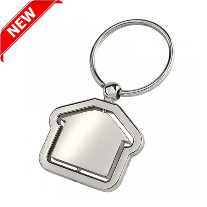 SPIN HOUSE KEY RING