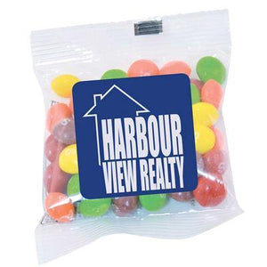 Assorted Fruit Skittles in 50 gram Cello Bag - New Age Promotions