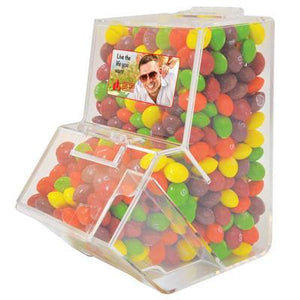 Assorted Fruit Skittles in Dispenser