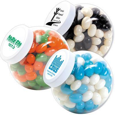 Corporate Colour Mini Jelly Beans in Container