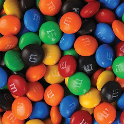 Assorted Colour M&M's