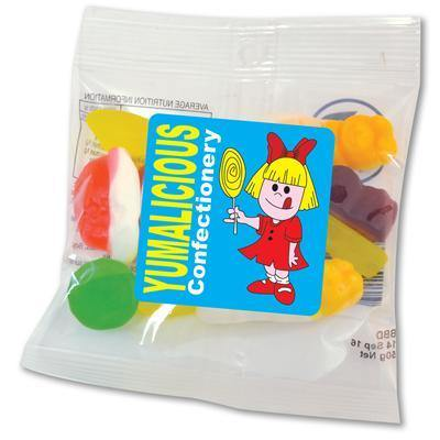 Cadbury Assorted Jelly Party Mix in 50 Gram Cello Bag