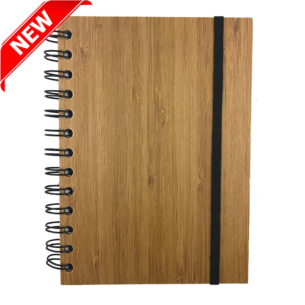 B6 BAMBOO NOTE BOOK - New Age Promotions