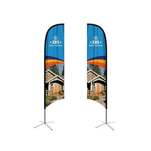 Small(65*200cm) Angled Feather Banners