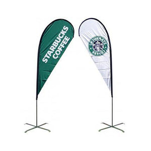 Medium(97*300cm) Teardrop Banners