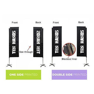 Medium(70.4*300cm) Rectangular Banners