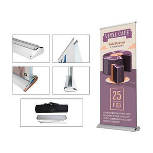 Double Sided Pull Up Banner (85 x 200cm)