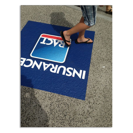 Pavement Floor Graphics - New Age Promotions
