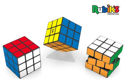 57mm Rubik's® Cube 3x3 - New Age Promotions