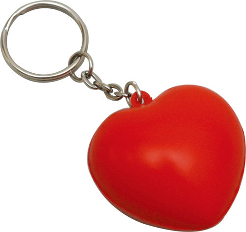 STRESS HEART KEY RING