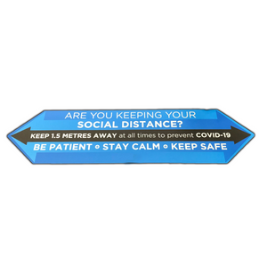 Social Distance Grip Graphic