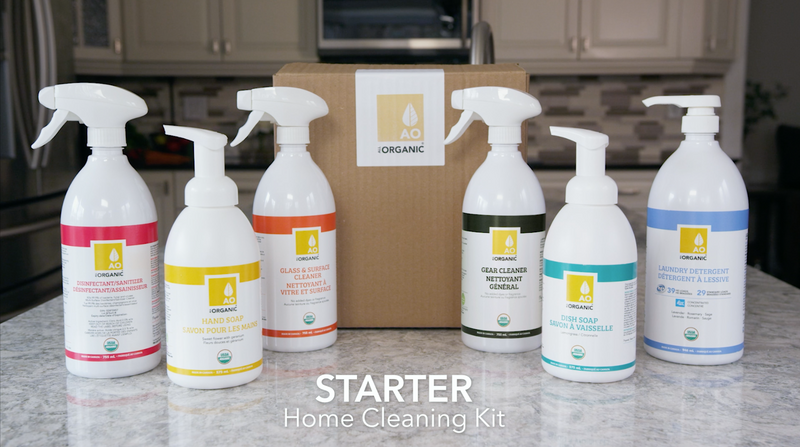 STARTER Home Cleaning Kit