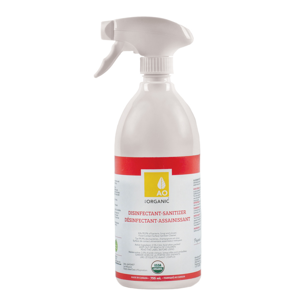 ALLORGANIC DISINFECTANT/SANITIZER