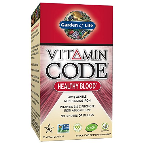 Garden of Life Iron Supplement (60 caps)