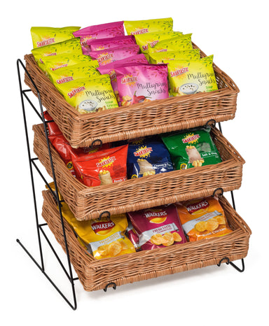 Counter Top Display Stand Display & Catering Prestige Wicker