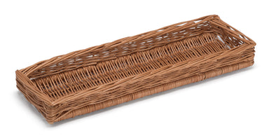 Display Wicker Basket Shallow Long Display Baskets Prestige Wicker