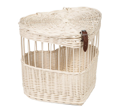 Dove Release Basket Heart Shaped Prestige Wicker