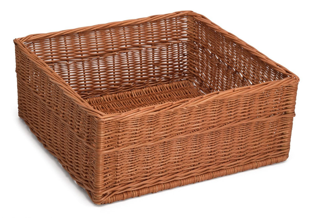 Extra Large Display/Storage Wicker Basket 60Cm x 60Cm Display & Catering Prestige Wicker