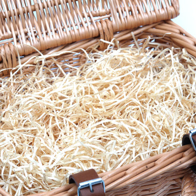 Hamper Filling Wood Wool Natural 250g Home & Garden Prestige Wicker red