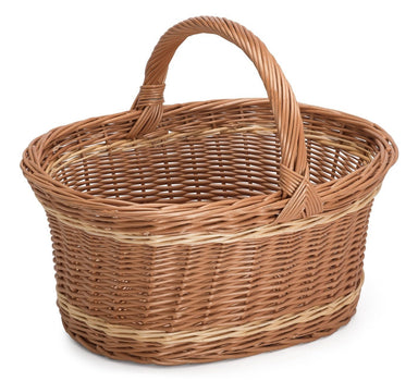 Large Wicker Carry Basket Home & Garden Prestige Wicker