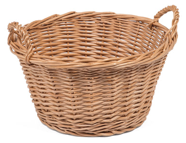 Round Wicker Basket Small Home & Garden Prestige Wicker