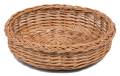 Round Wicker Bread Display Basket Display & Catering Prestige Wicker