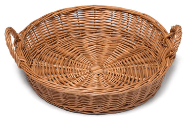 Round Wicker Display Basket 34cm Display & Catering Prestige Wicker