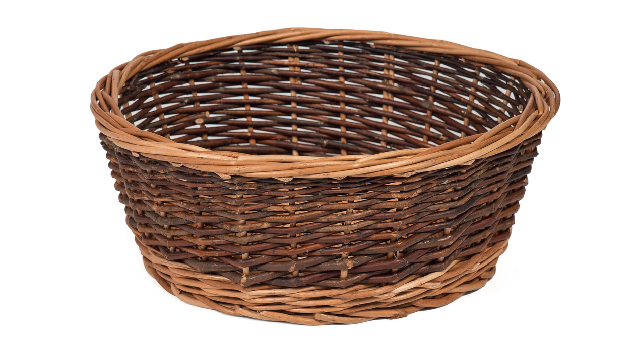 Round Wicker Fruit Basket Prestige Wicker