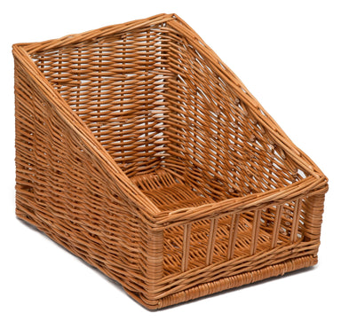 Sloping Wicker Bread Display Basket 30x40cm Display & Catering Prestige Wicker