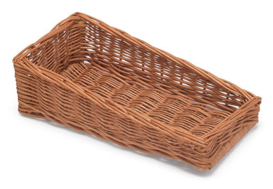 Sloping Wicker Display Basket 20x39cm Display & Catering Prestige Wicker