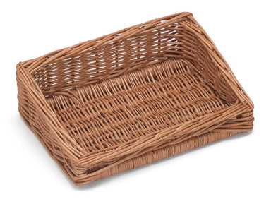 Sloping Wicker Display Basket 30x20cm Display & Catering Prestige Wicker