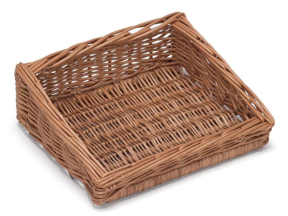Sloping Wicker Display Basket 30x25cm Display & Catering Prestige Wicker