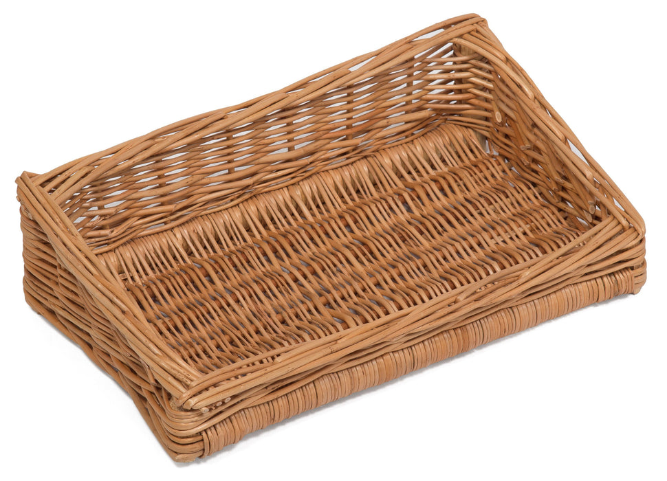 Sloping Wicker Display Basket 35x20cm Display & Catering Prestige Wicker
