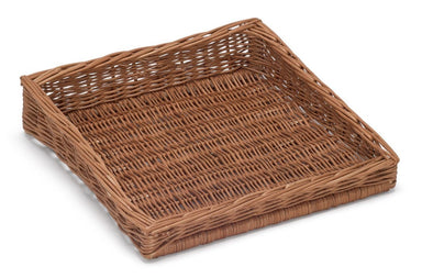 Sloping Wicker Display Basket 40x39cm Display & Catering Prestige Wicker